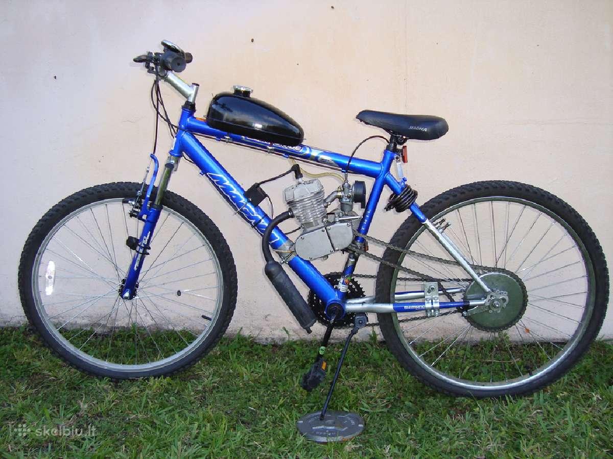 Motorinio dviračio komplektas 80cc