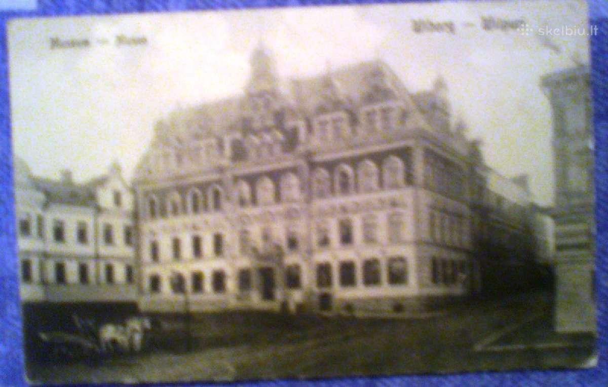 Sena atvirutė Museum - Wiborg