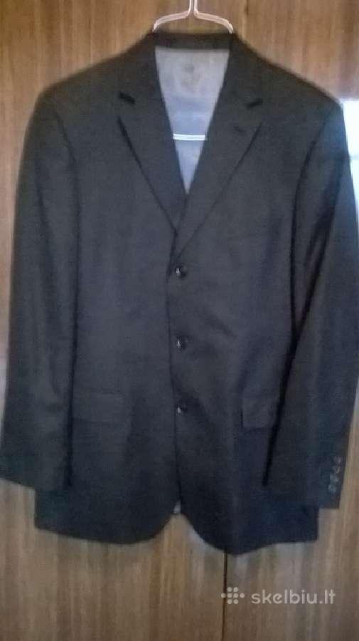 Juodas vyriskas kostiumas / lane borgosessia