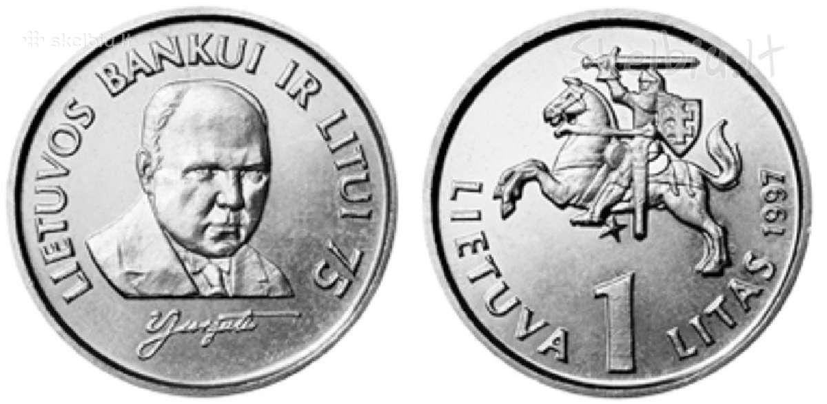 Jurgutis 1 litas 1997
