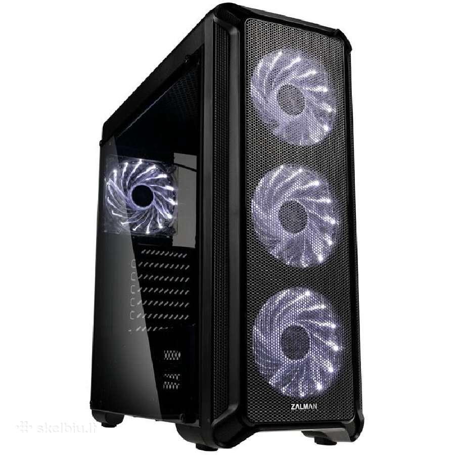 I5-9400f, 16gb 2666, Rx580 8gb, 240gb SSD, 24mėn