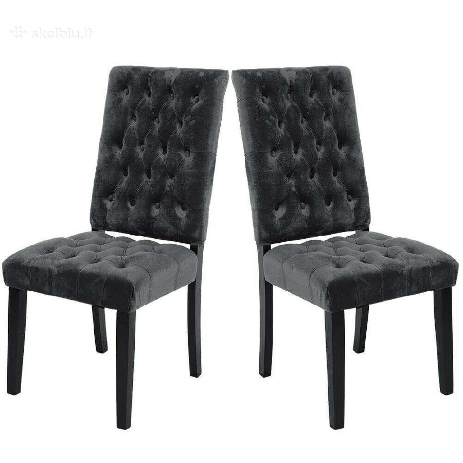 Naujos medžiaginės ir odinės kėdės