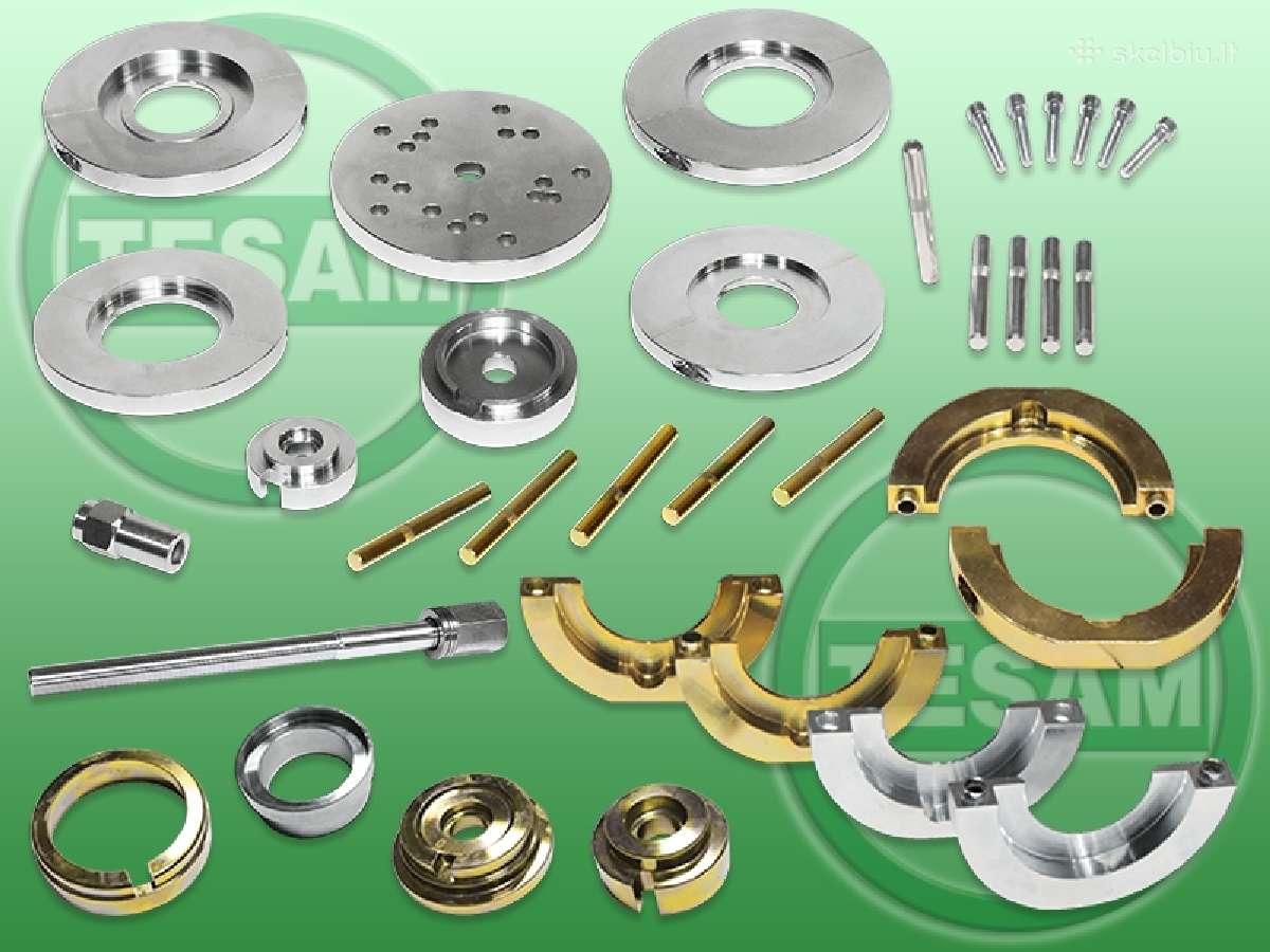 Spec. įrankiai guolių su stebule presavimui