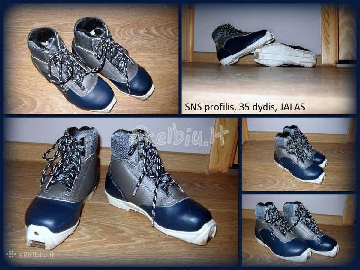Lygumų slidžių batai vyrams
