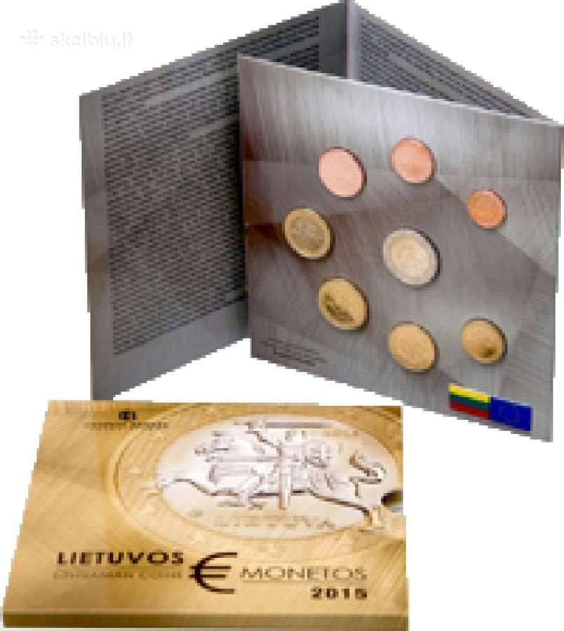 2015 metų laidos apyvartinių monetų rinkinys (bu)