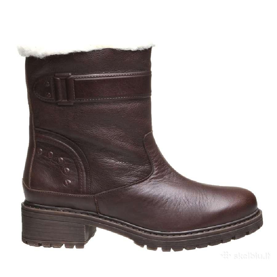 Nauji odiniai žieminiai batai
