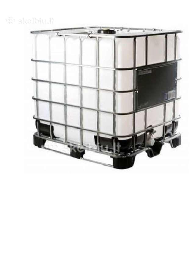 Ibc konteineriai,1000 ltr Ibc talpos- vandeniui
