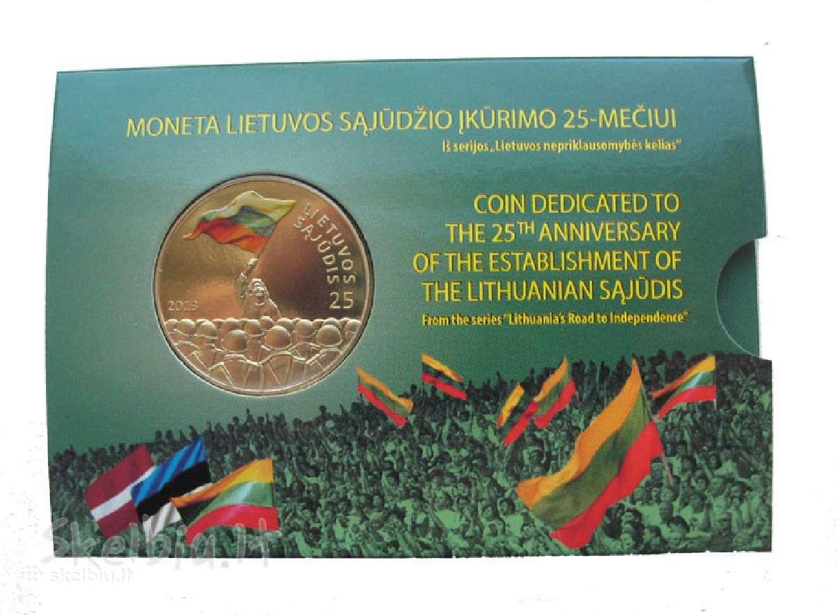 2013 m. 25 litų moneta, skirta Lietuvos Sąjūdžiui