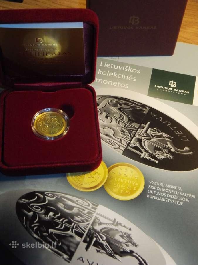 50 eur moneta Kalybai