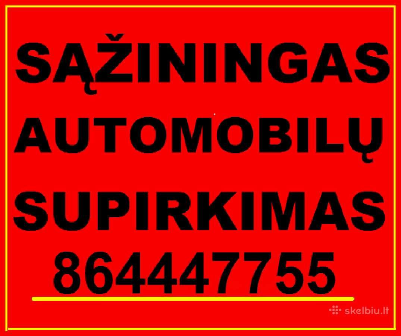 Brangiai ir sąžiningai superkame automobilius