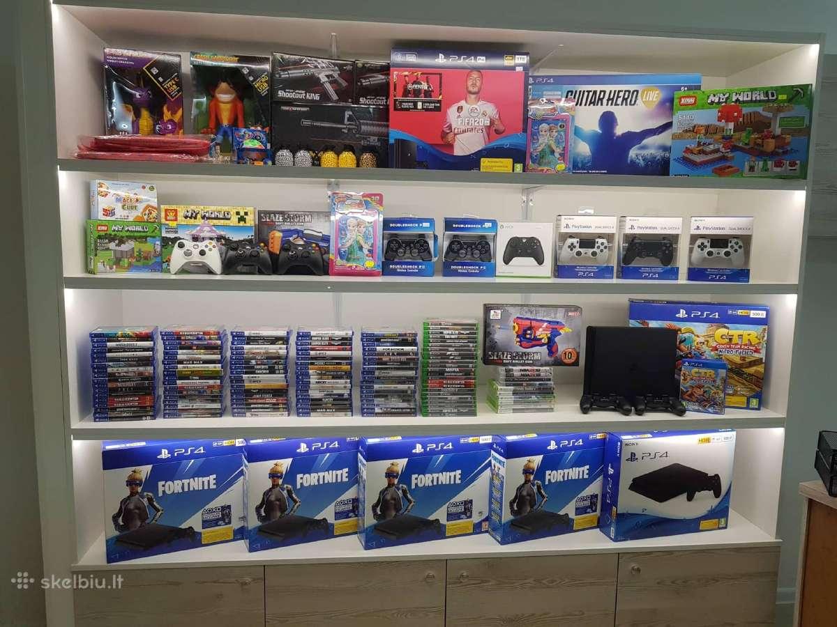Žaidimų parduotuvė Taikos pr. 41