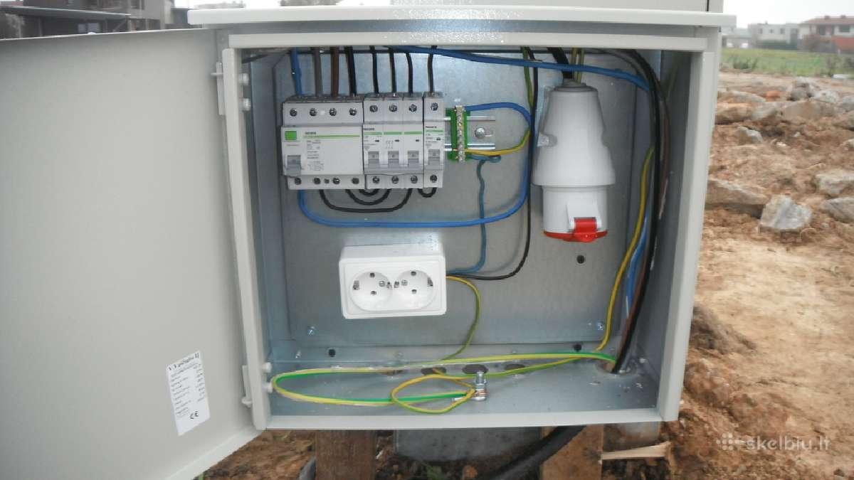 Elektriko paslaugos kaune, Elektrikas kaune