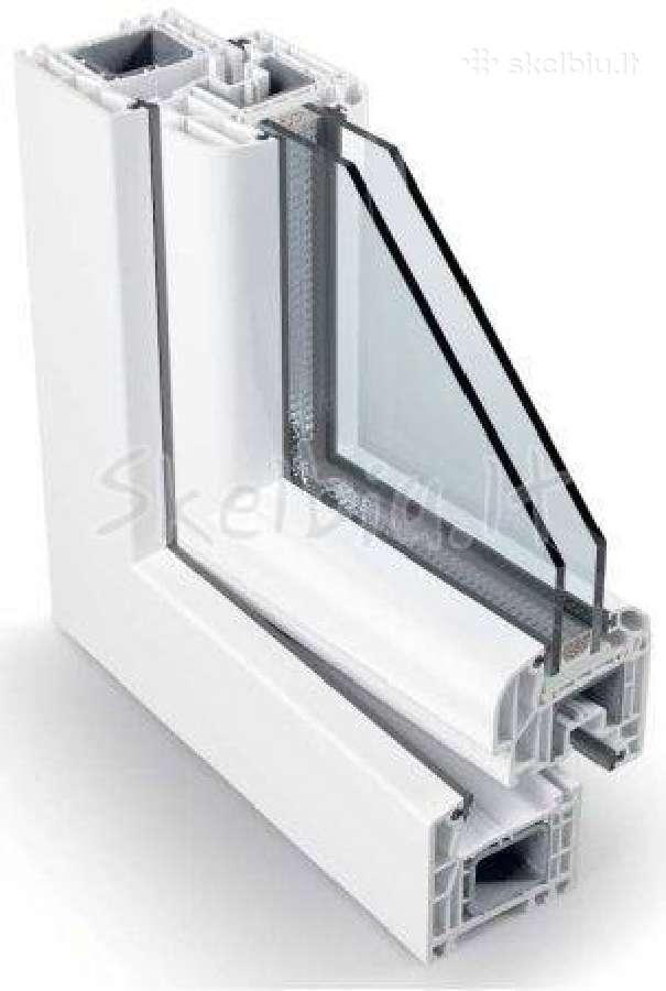 Plastikiniai langai kokybiški - nebrangiai gealan