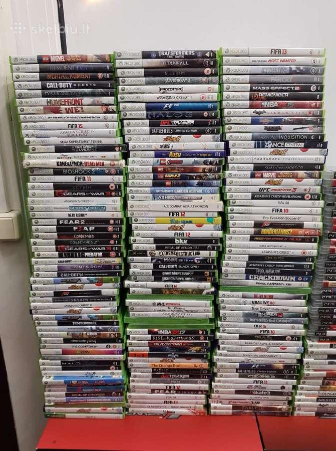 Xbox 360 žaidimų ir konsolių parduotuvė Vilniuje!