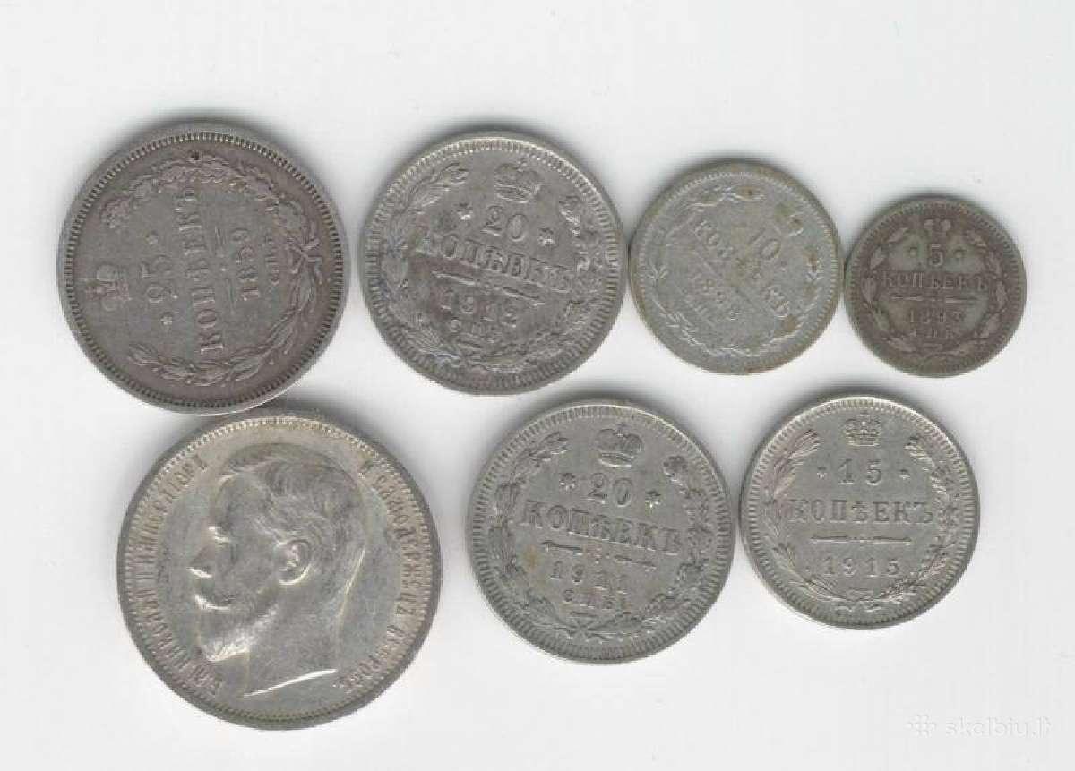 Rusiskos carines monetos,medaliai.