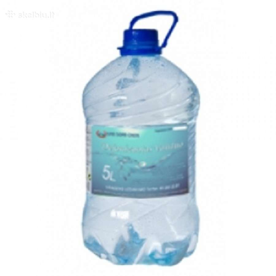 Distiliuotas - dejonizuotas vanduo