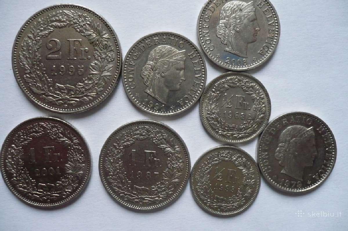 Šveicarijos frankai