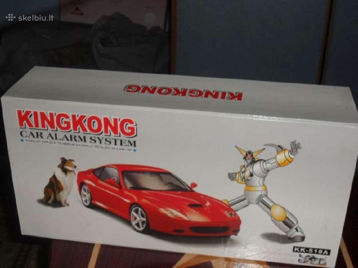 Kingkong automobilinė signalizacija