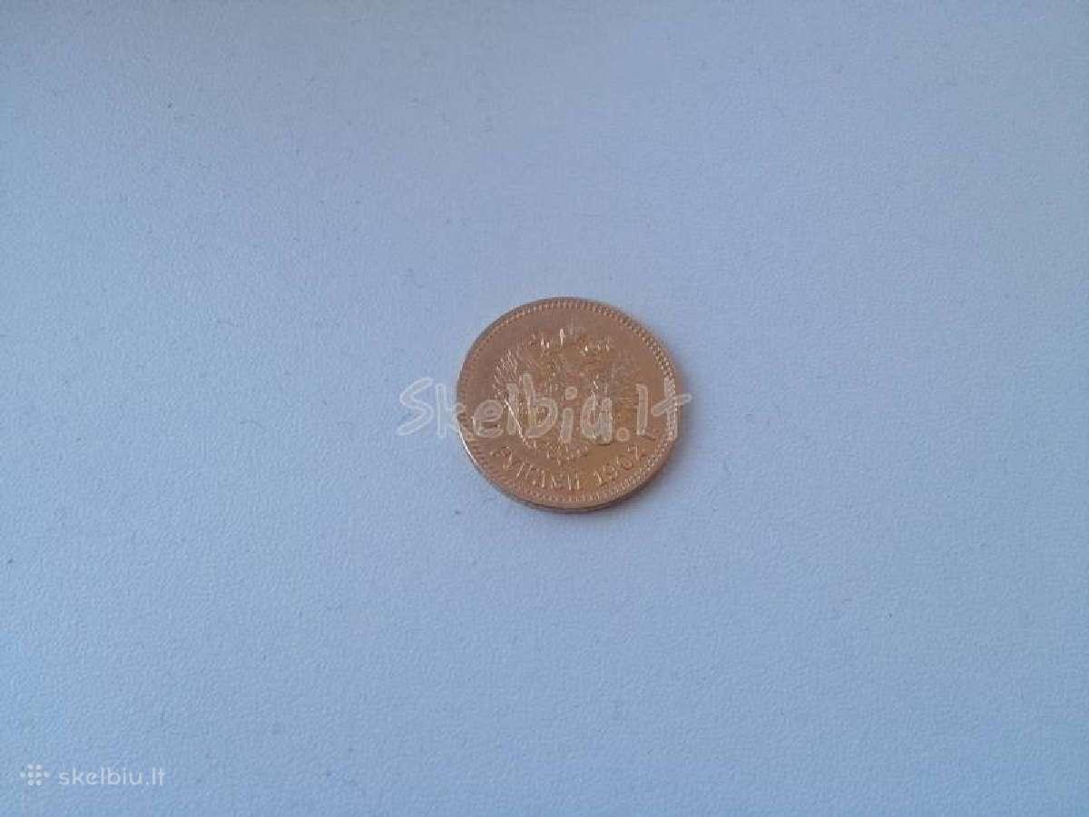Perku kolekcijai auksines ir sidabro monetas