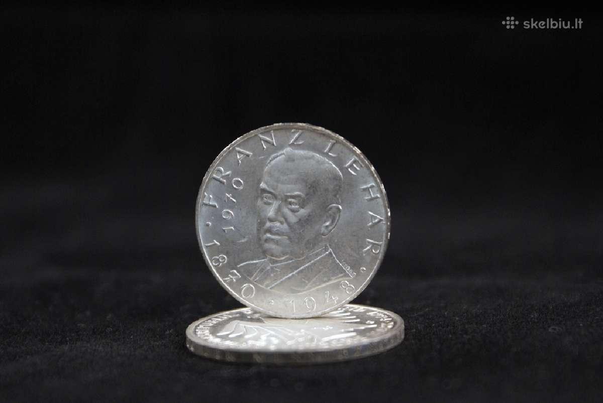 Austrija 25 šilingai, 1970 m.
