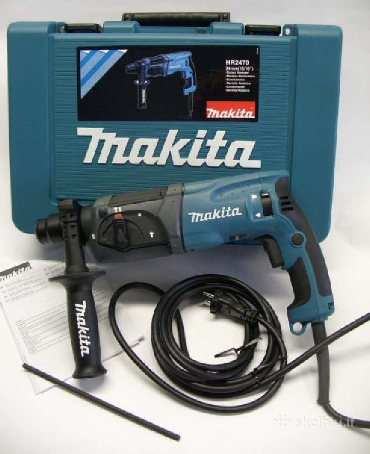 ,.Makita perforatorius hr2470 Ft sds +