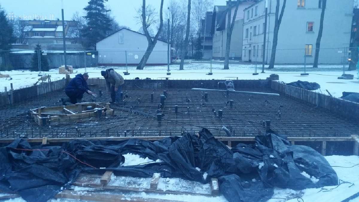 Grindų betonavimas-pagrindų paruošimas
