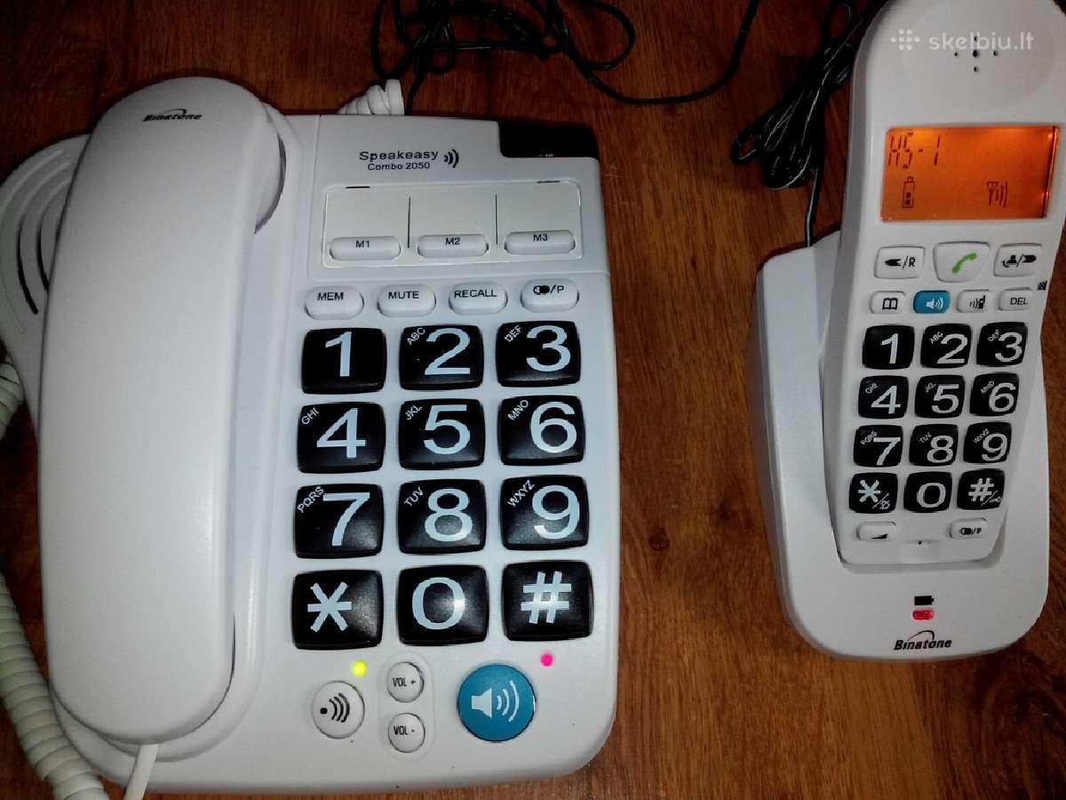 Naujas Telefonas senjorams