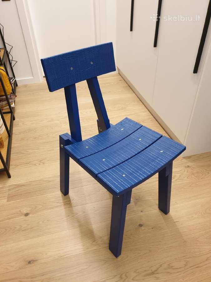 Ikea melynos naujos kėdės 2vnt