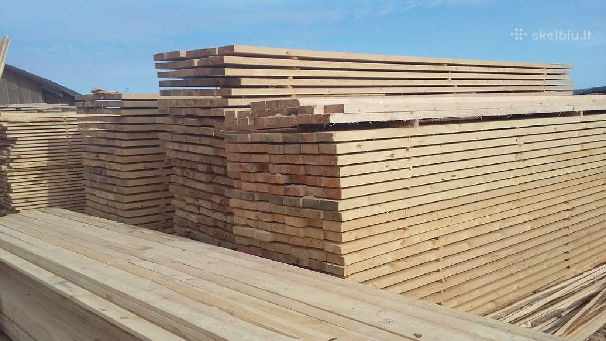 Parduodame pigiai statybine mediena