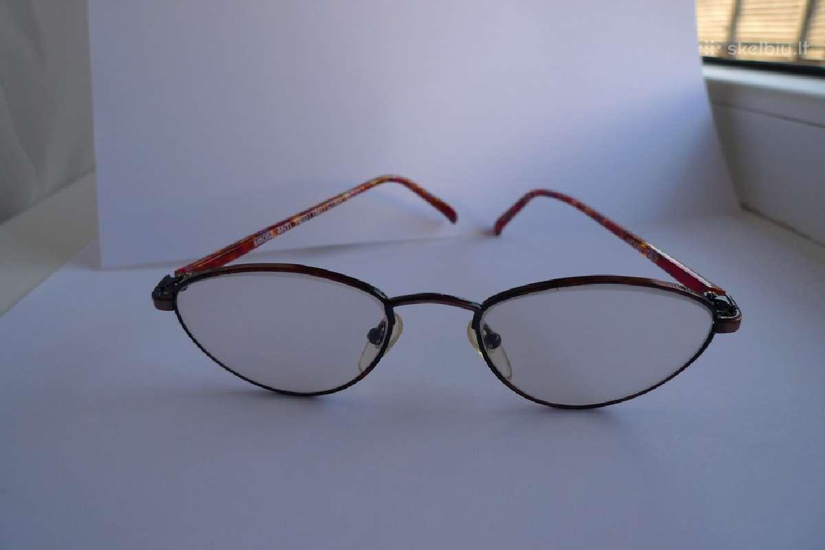 Nauji stiling akiniai su stiklais ( be dioptriju )