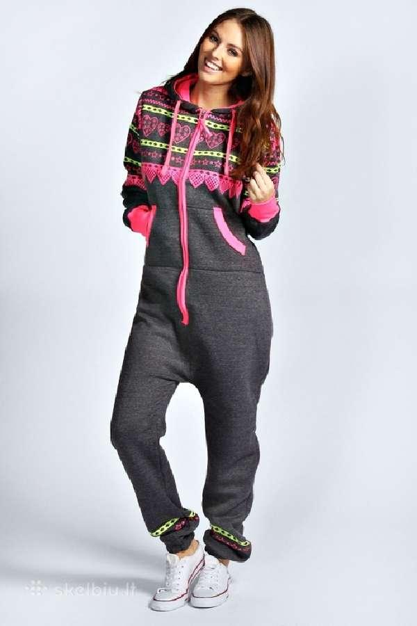 Stilingi ir šilti moteriški kombinezonai