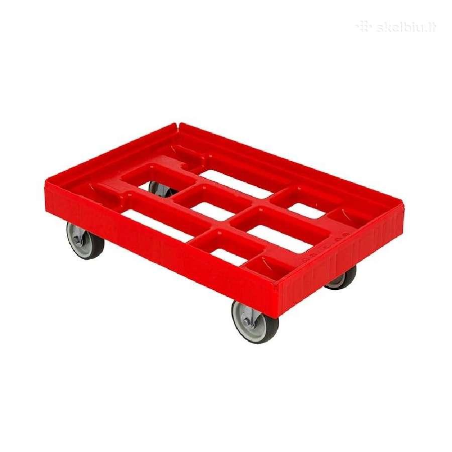 Vežimėlis dėžėms, kroviniams iki 300 kg.