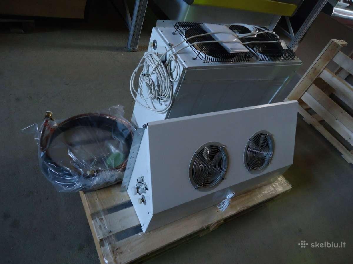 Naujos saldymo kameros/nauji saldymo agregatai
