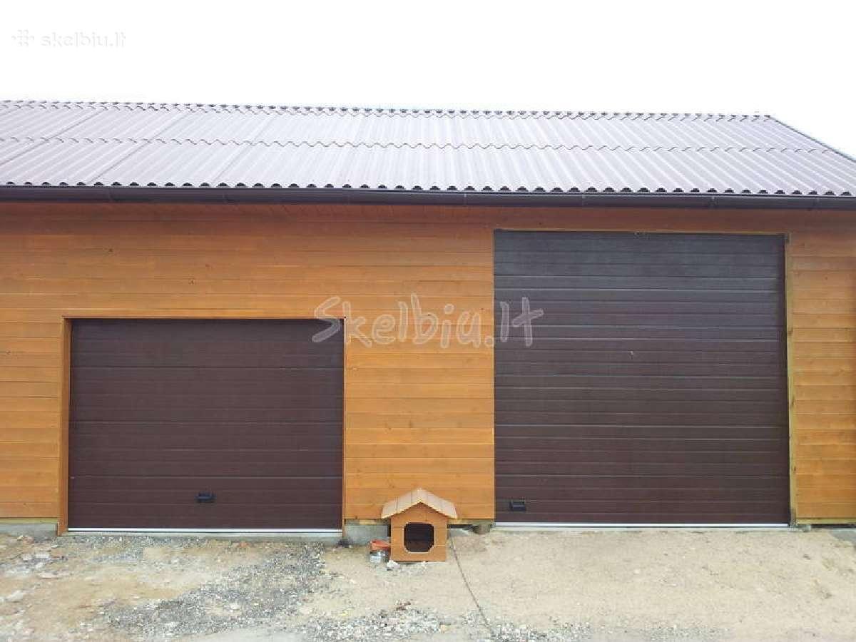 Segmentiniai automatiniai pakeliami garazo vartai