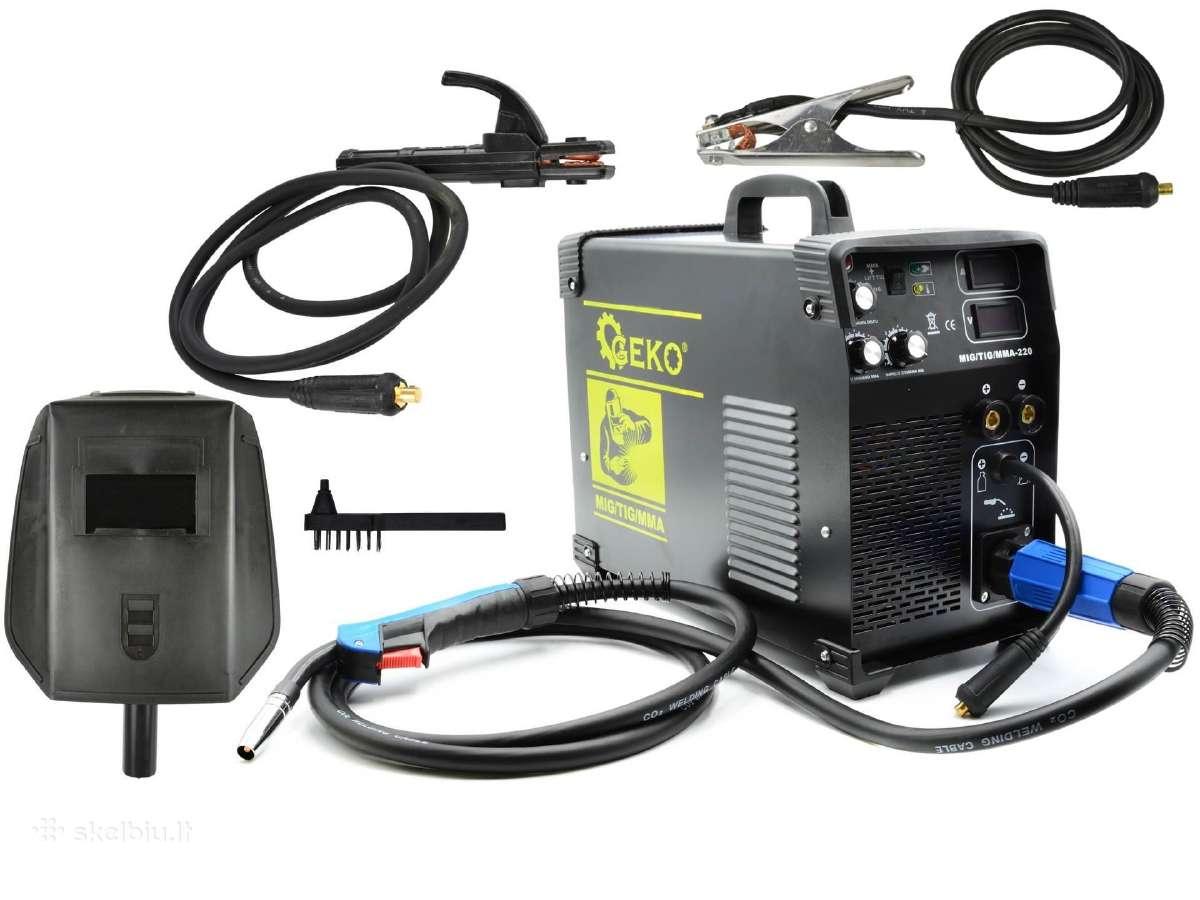 Suvirinimo aparatas kempas Mig/tig/mma-220a - Skelbiu.lt