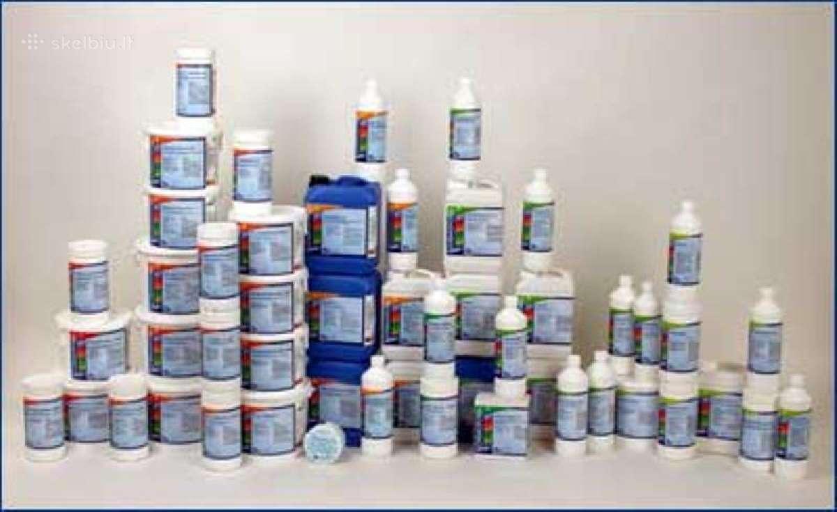 Chemikalai baseinams, baseinu chemija, Ph, chloras