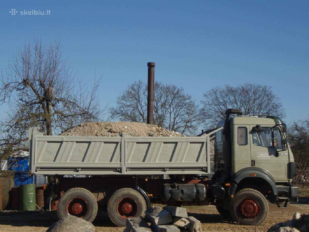Skaldą,žvyras, smėlis, juodžemis -Vilnius