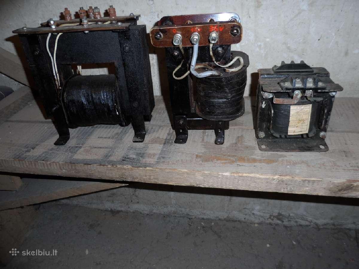 Transformatoriai ir kabelis