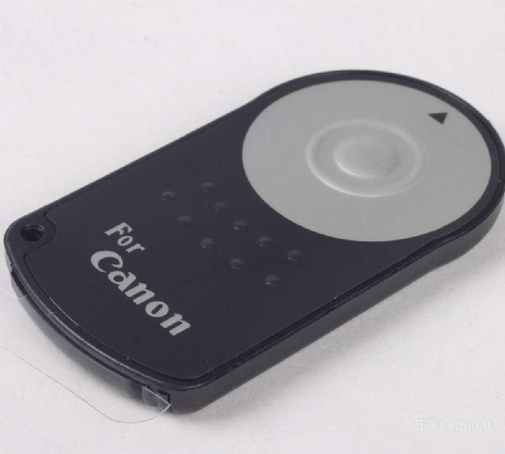 Canon ir Nikon fotoaparatams nuotoliniai pulteliai