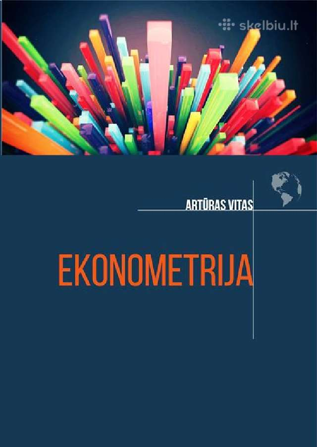 Ekonometrija, mokomoji knyga