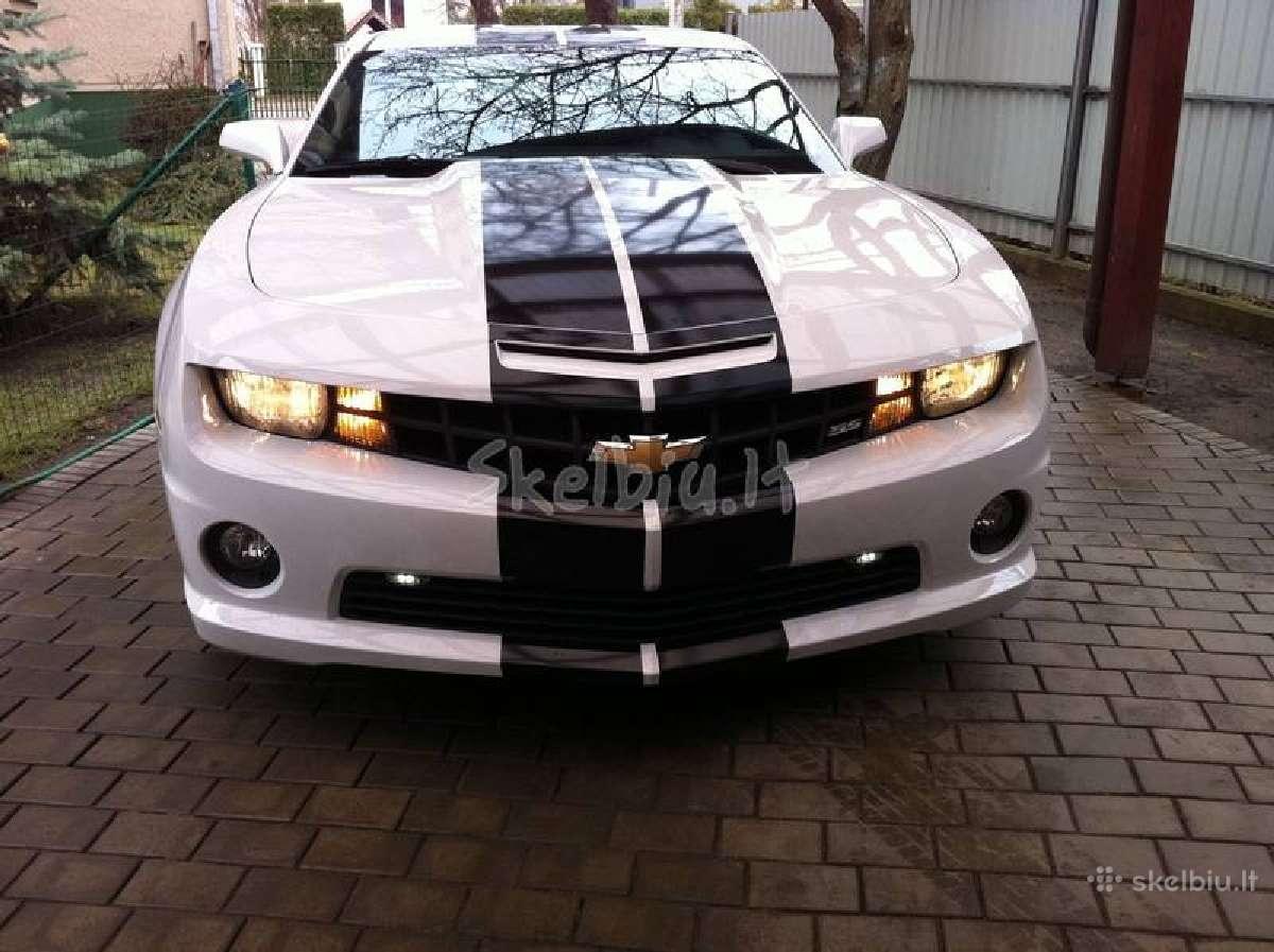 Camaro,mustang,dodge Challenger perdarymas Usa-eu