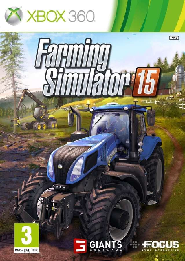 Farming Simulator 15 Ps4 PS3 Xbox 360 Xbox One