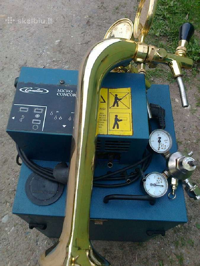 Alaus pilstymo įranga