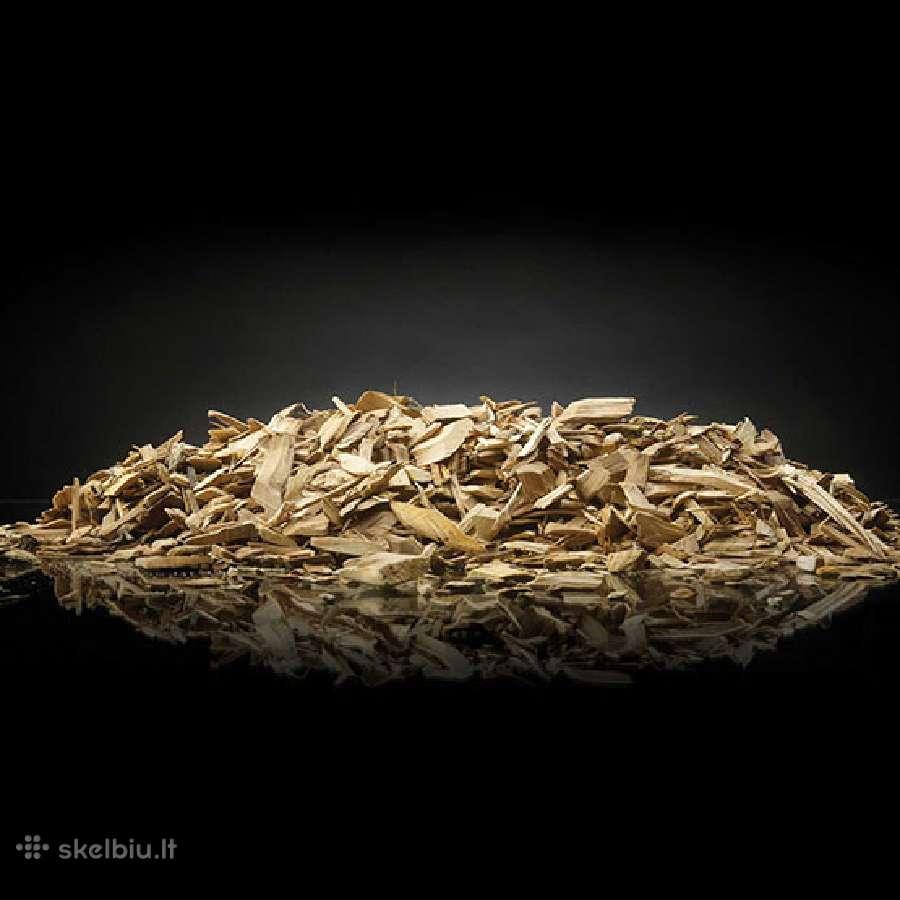 Kepsninės medžio drožlės rūkymui