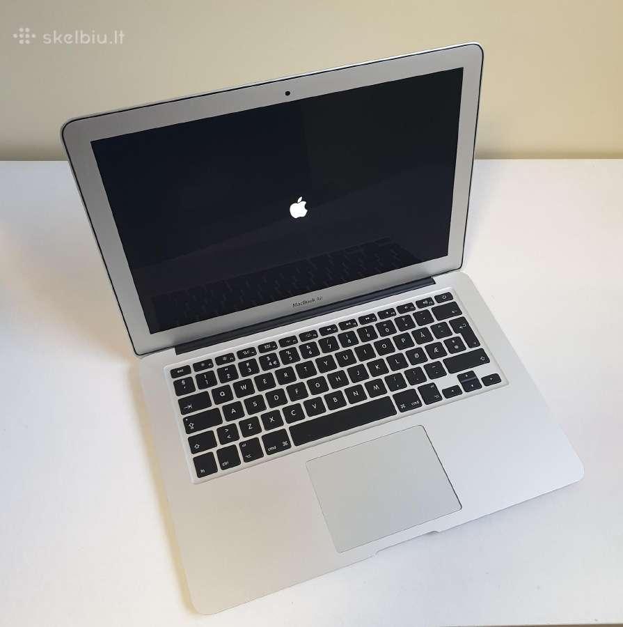 Apple MacBook Air (13-inch Early 2015), garantija - Skelbiu.lt