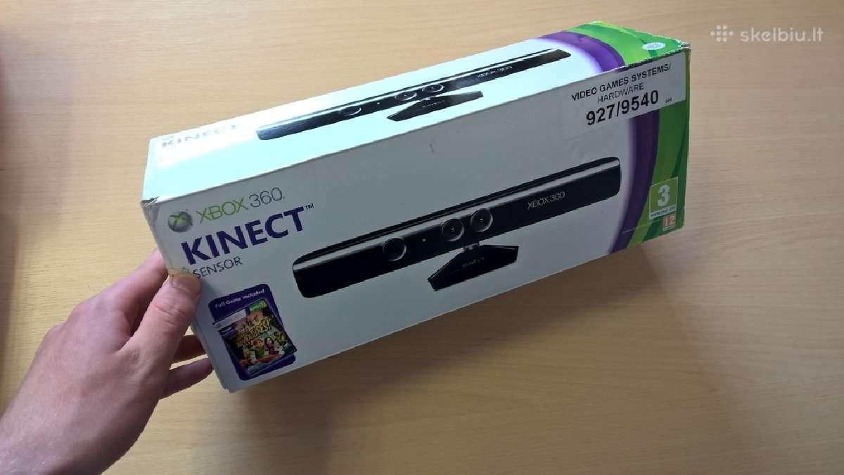 Xbox 360 xbox one Kinect sensorius kinektas kamera