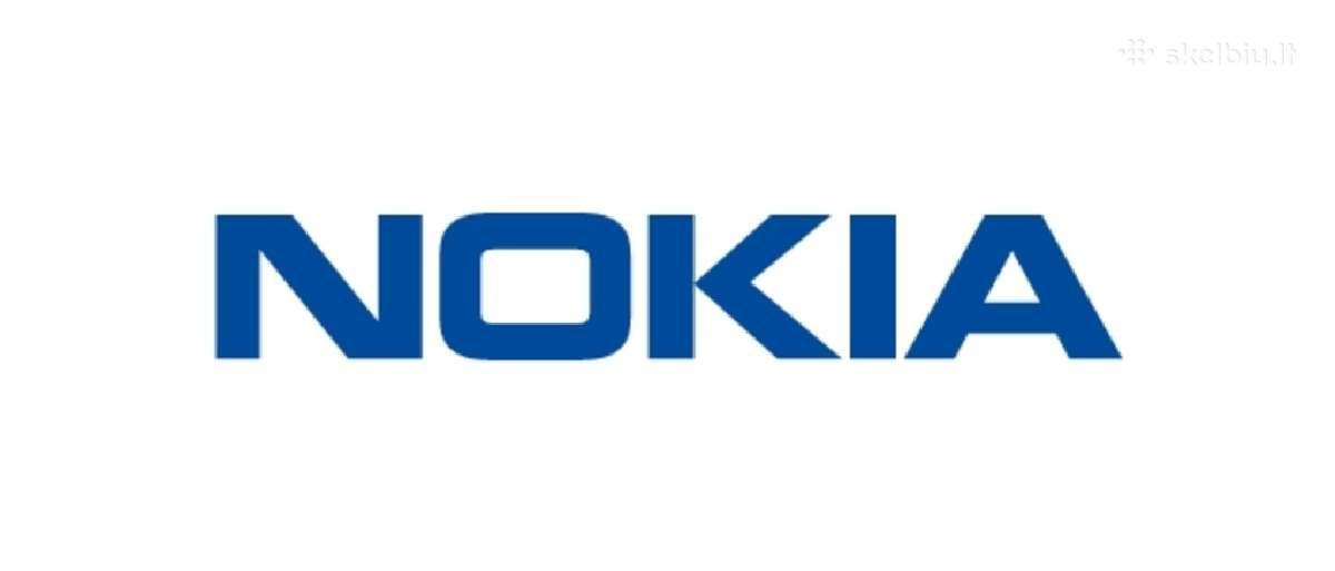 Nauji Nokia telefonai su 2 metų Garantija