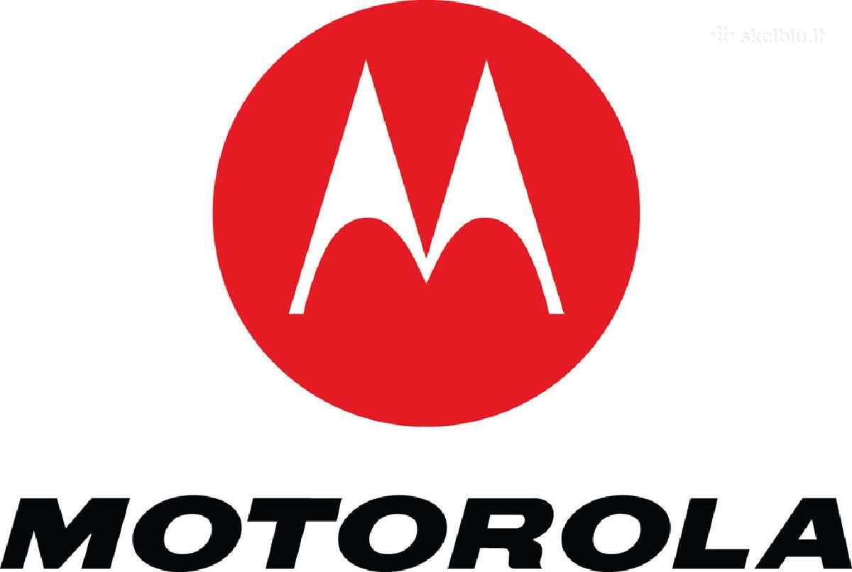 Nauji Motorola telefonai su 2 metų Garantija