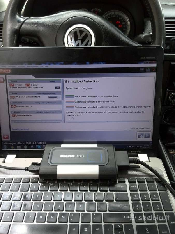Autocom 2017r naujausias modelis zalia plokste Bt