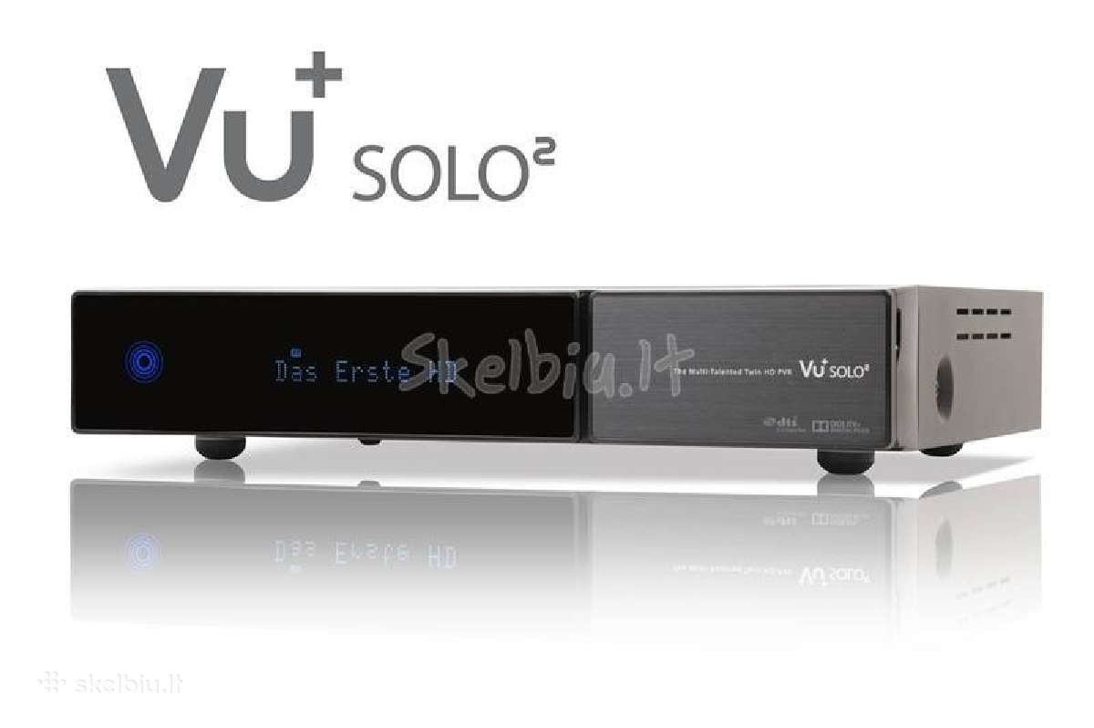 Vu+ solo2 full HD twin dvb-s2 linux hdtv pvr